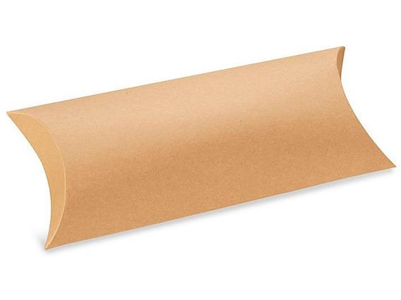 250 Cajas Kraft Tipo Almohadilla De 22.54 X 12.70 X 5.08