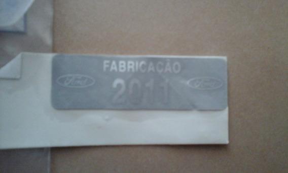 Adesivo Placa De Identificação Ford 2011 Ys616801631ga