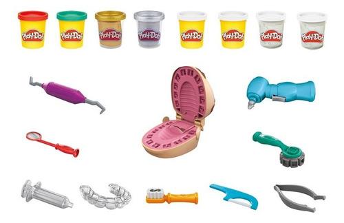 Imagem 1 de 2 de Massinha Play Doh Brincando De Dentista - Hasbro F1259