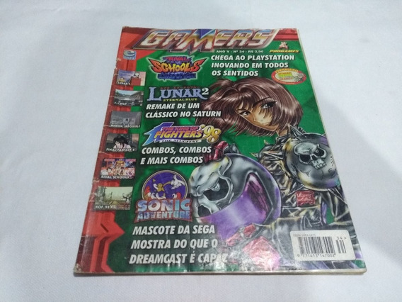 Revista Gamers Nº 34 Dicas De Grandia