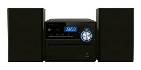 Radio Mini System Mp3 10w Bluetooth Cd Usb Com Controle