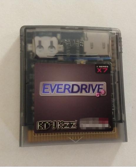 Everdrive Game Boy X7 Krikzz G. Boy Classic Color S/ Cartão