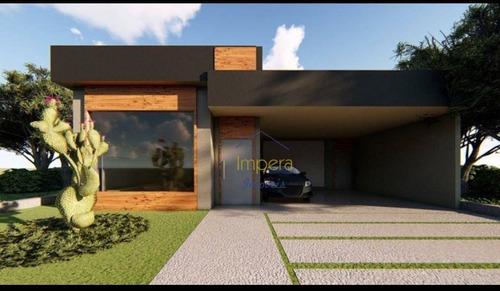 Casa Com 3 Dormitórios À Venda, 112 M² Por R$ 680.000,00 - Condomínio Terras Do Vale - Caçapava/sp - Ca0337