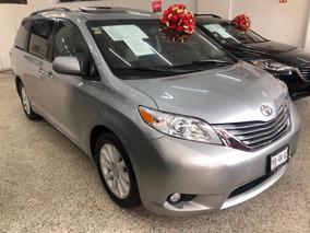 Toyota Sienna Xle 2015 Unico Dueño!!! Servicios De Agencia!!