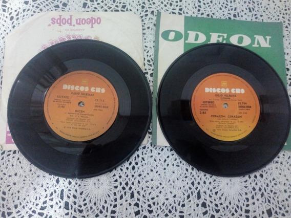 Julio Iglesias 2 Simples Disc (discos De Vinilo)