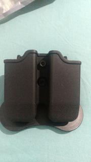 Porta Carregador Duplo Glock Pt Taurus