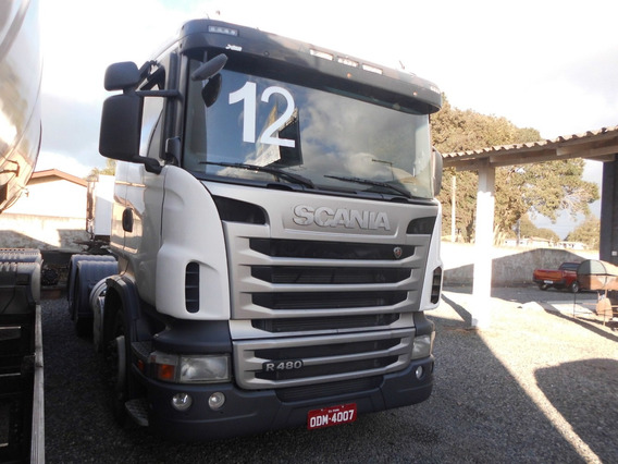 Scania R 480 6x4 Boggie Leve Automatico Retarder Ar