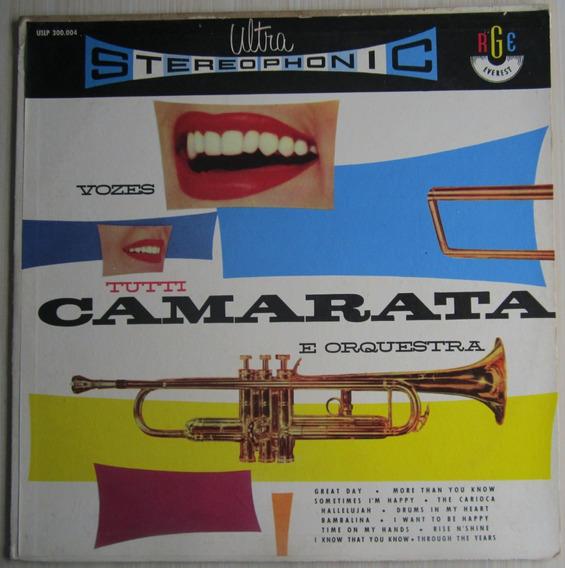 Lp Tutti Camarata Vozes E Orquestra