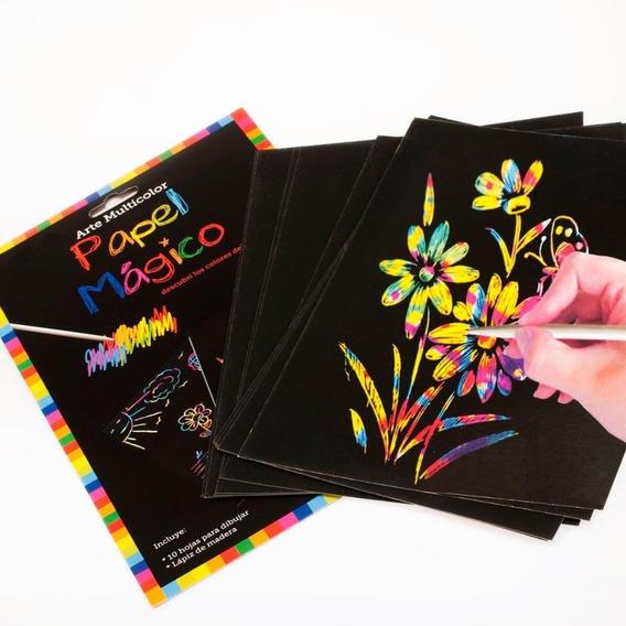 Papel Magico Off Paper A 4 Com Bastão 5 Folhas