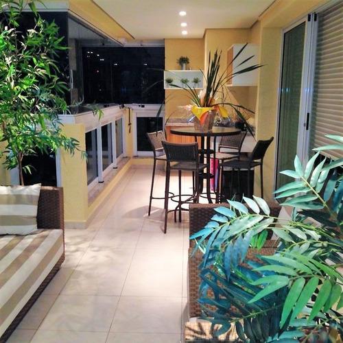 Luxuoso Apartamento De 4 Suites, 5 Vagas De Garagem E Varanda Gourmet - Al203
