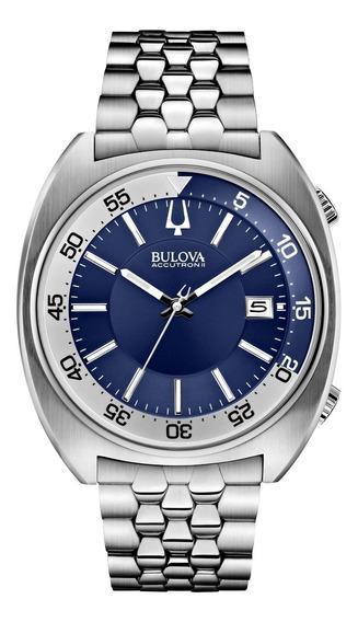 Bulova Accutron Ii 96b209 Snorkel Watch Acero Inoxidable