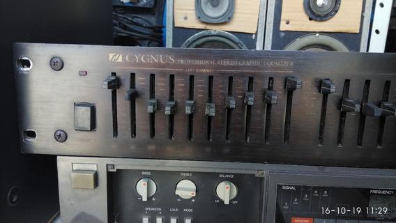Equalizador Cygnus Ge1800x Com Alças