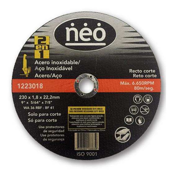 Disco Abrasivo De Corte Neo - 1223018