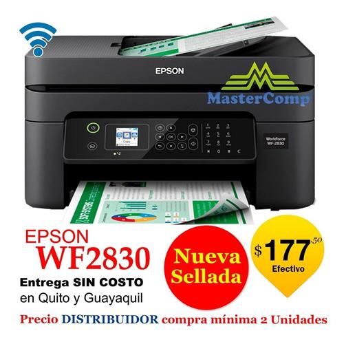 Imagen 1 de 5 de Impresoras Epson Wf2850 / Wf 2830 Para Distribuidores