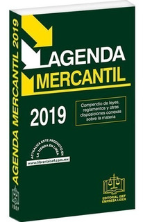 Libro Agenda Mercantil 2019