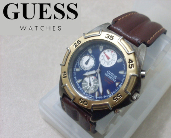 Relógio Guess Masculino Waterpro 50m Feet 165 Original