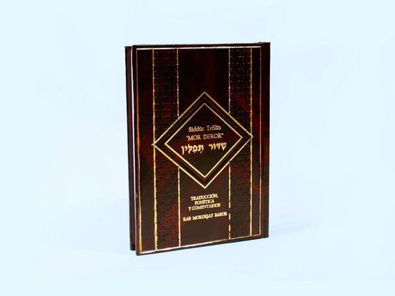 Libro Sidur Tefilim Mor Deror Rezo Matutino Fonética Hebreo