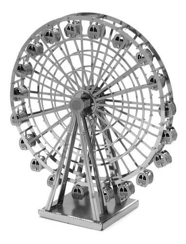 Ferris Wheel Rompecabezas Metálico 3d En Stock! Envío Ya