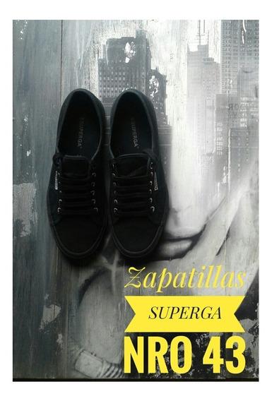 Impecables Zapatillas Superga 43/44 Nike adidas Vans Puma