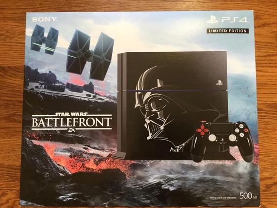Play Station 4 Edicion Especial Battlefront 500gb