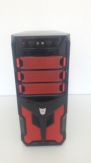 Pc Gamer Intel Core 2 Quad + Hd 500gb + 4gb Ram + Gt710 2gb