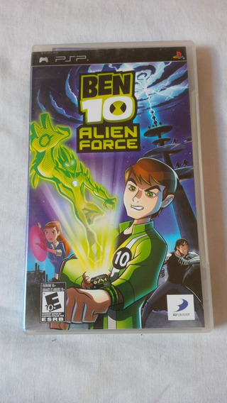 Ben 10 Alien Force Psp Original Completo