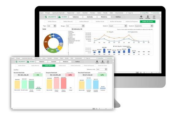 Planilha Excel Para Controle De Fluxo De Caixa Empresarial