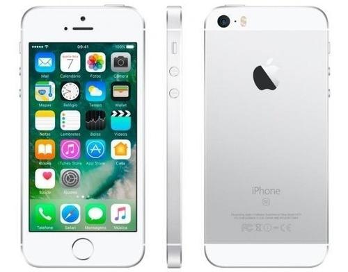 Apple iPhone 5s 16gb - Prateado + Capinhas