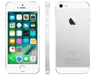 Apple iPhone 5s 16gb - Prateado + Capinhas