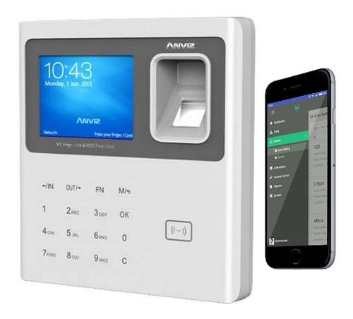 Control  Personal Asistencia Anviz Huella W1-pro