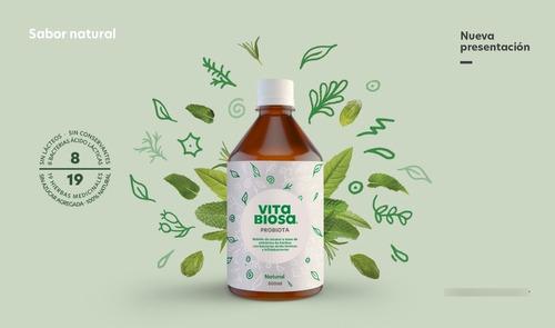 Imagen 1 de 2 de Bebida De Acción Probiótica, Vita Biosa, 500ml