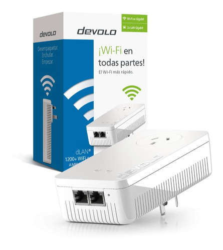 Powerline Devolo Dlan 1200+ Ac Wifi Single