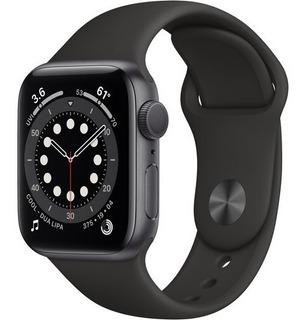 Apple Watch 6 40mm Gps Space Gray, Black Sport 12x S/juros