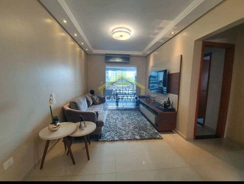 Imagem 1 de 30 de Oportunidade 2 Dorms, Canto Do Forte, R$ 460 Mil - Vftt0012483