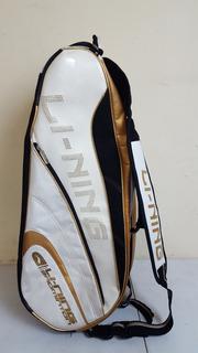 Bolsa Mochila Raquetas Li Nin 6 Badminton L827