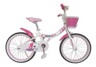 Bicicleta Benoá G20bx512 Aro 20 Com Cestinha