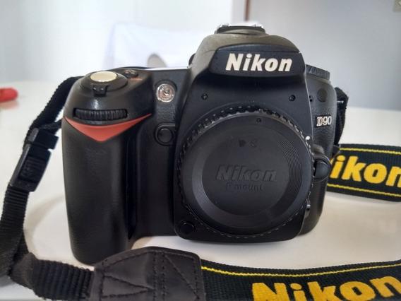 Nikon D90 Somente O Corpo**leia O Anúncio **