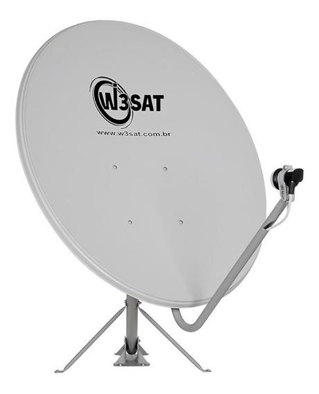 Antena Dth Offset Banda Ku De 75 Cm W3sat Sky Oitv Clarotv