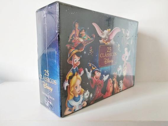 Box Dvd 25 Clássicos Walt Disney - 28 Discos (lacrado)