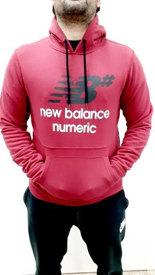 Buzo New Balance Numeric Logo Stacked B Envío A Todo El País