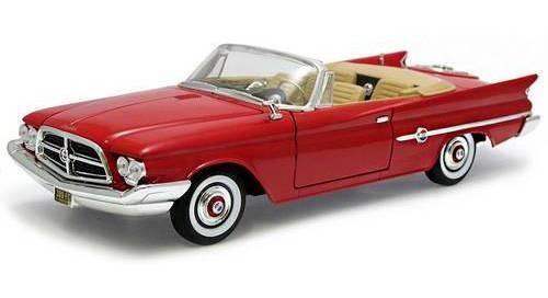 1960 Chrysler 300f Vermelho - Escala 1:18 - Yat Ming