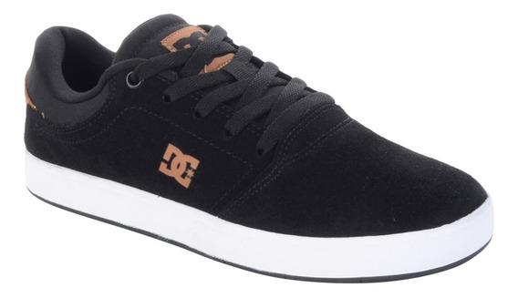 Dc Tênis Dc Shoes Crisis La Preto E Marrom - Preto/marron /