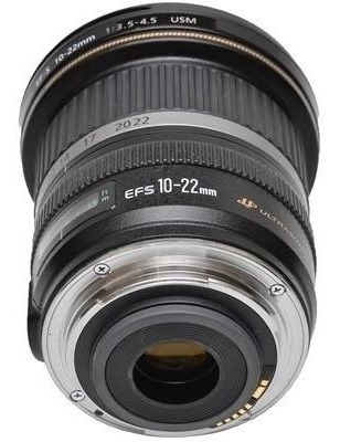 Objetiva Olho De Peixe Efs 10-22mm Semi-nova (para Canon)