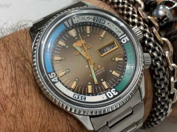 Orient King Diver 3 Star F469620a Automatic Vintage