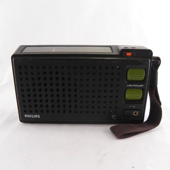Rádio Antigo Philips Rl 150 Vintage Raro - Usado