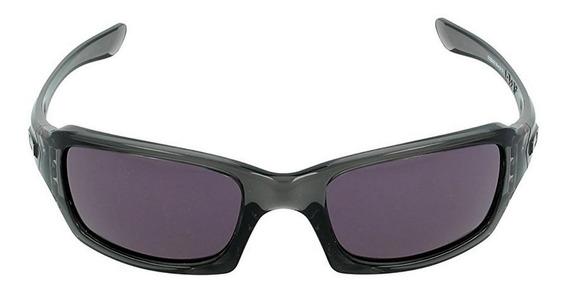 Lentes Oakley Fives Squared Grey Smoke / Warm Grey Oo9238-05