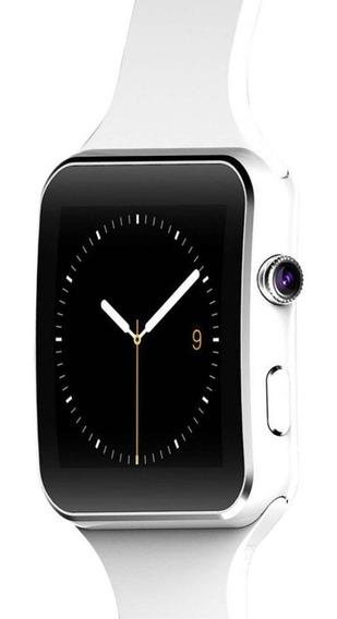 Hopemob Smart Watch X6 Curvo Camara Celular Con Sim Y Sd