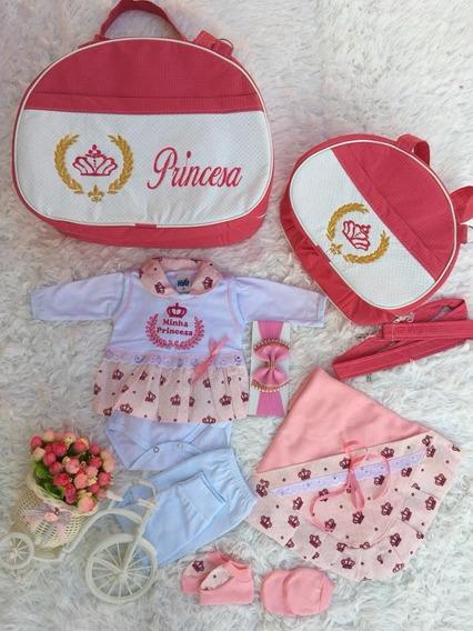 Kit Bolsa Maternidade Bebê + Brinde Saída