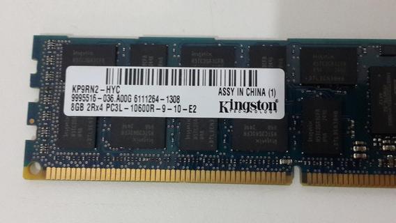 Kingston 8gb 2rx4 Ddr3-1333 Pc3l-10600r Dl360p Dl380p Gen8