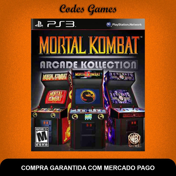 Mortal Kombat Arcade Kollection - Ps3 - Pronta Entrega
